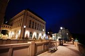 stock photo of judiciary  - Night view of Judiciary City  - JPG