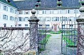 Monastery fahr by Zurich, Switzerland