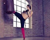 fighter kick