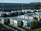 Airport Cargo Containers