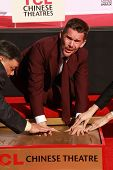 LOS ANGELES - JAN 8:  Ethan Hawke at the Ethan Hawke Hand and Foot Print Ceremony at a TCL Chinese Theater on January 8, 2014 in Los Angeles, CA