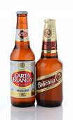 Carta Blanca And Bohemia Beer