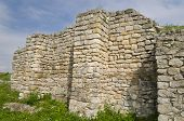 Ancient Ruins Of A Medieval Fortress Close To The Village Of Cherven, Bulgaria