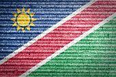 Namibia Flag.
