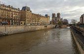 Paris. The River Seine.