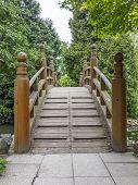 Japanese Red Bridge - Taiko Bashi