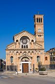 Church of Madonna della Fontana. Torremaggiore. Puglia. Italy.