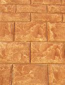Brown Cladding Tiles Imitating Stones