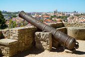 Cannon At Castelo De Sao Jorge, Lisbon