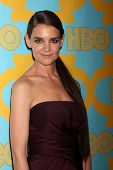 LOS ANGELES - JAN 11:  Katie Holmes at the HBO Post Golden Globe Party at a Circa 55, Beverly Hilton Hotel on January 11, 2015 in Beverly Hills, CA