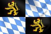 Flag Of Bavaria-munich