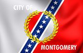 Flag Of Montgomery, Usa.