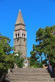 St. Bernardin Church In Portoroz, Slovenia