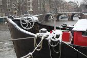 Amsterdam waterfront.