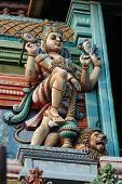 Vishnu -Supreme God In The Vaishnavite Tradition Of Hinduism, Hindu Temple Decoration