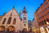 old town hall of Munich city Germany