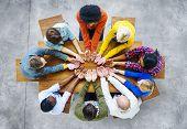 Diversity People Student Teamwork Friendship Support Concept