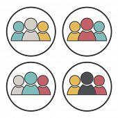 Team Teamwork Collaboration Connection Support Bonding Union Concept