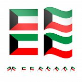 Kuwait Flags