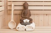 meditation and relaxation with buddha statue