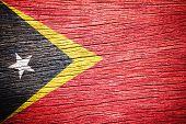 East Timor Flag.