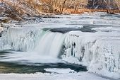 Wintry Waterfall