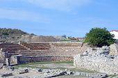 Ruins Of Ancient Amphitheatre