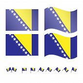 Bosnia And Herzegovina Flags