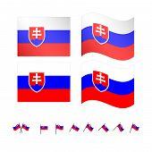 Slovakia Flags