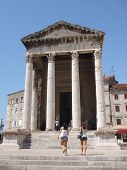 Temple of August in Pula