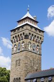 pic of bute  - The main clocktower of Cardiff Castle - JPG