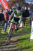 Gijon, Spain - January 9: Cyclocross Championships Spain In January 9, 2015 In Gijon, Spain. The Cyc