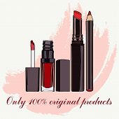 foto of  lips  - Cosmetics for Lips  - JPG