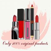 image of  lips  - Cosmetics for Lips  - JPG