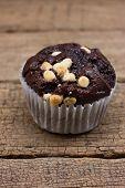 stock photo of chocolate muffin  - Chocolate Muffin - JPG