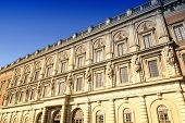 image of royal palace  - Royal Palace in Stockholm Sweden - JPG