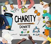 foto of charity relief work  - Charity Donate Help Give Saving Sharing Support Volunteer Concept - JPG