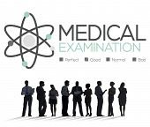 picture of medical examination  - Medical Examination Check Up Diagnosis Wellness Concept - JPG