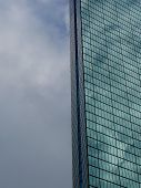 John Hancock Tower On A Cloudy Day