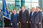 Viktor Yanukovich, Michail Dobkin, Alexandr Yaroslavsky
