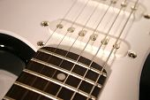 Close Up Electric Guitar