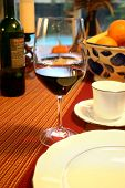 Wineglass Warm Table poster